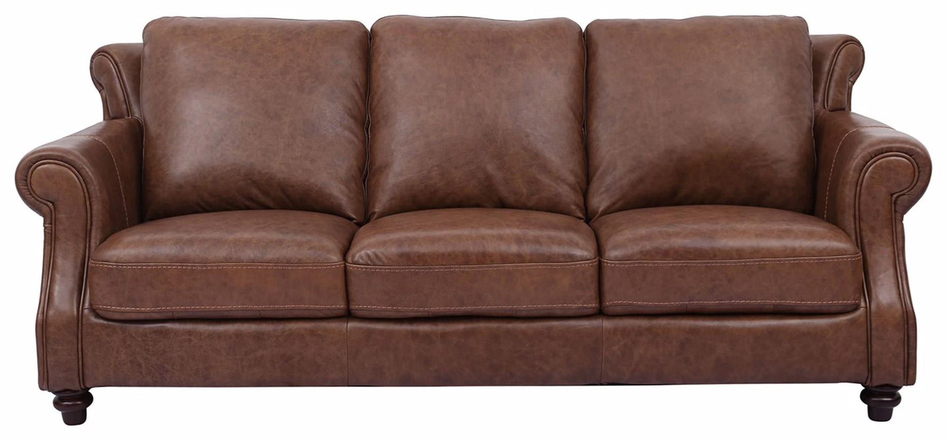 Cheers Sofa Cindy 100% Leather Sofa - Item Number: C2115-L3011346