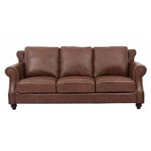 Exceptionnel 100% Leather Sofa