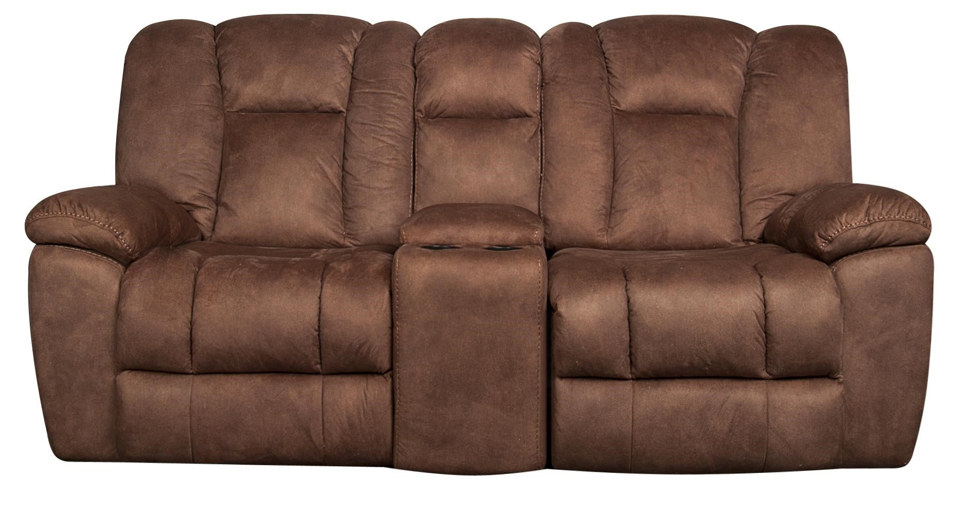 Morris Home Furnishings Caleb - Caleb Gliding Reclining Loveseat - Item Number: 105814292