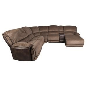 Morris Home Clyde Clyde 6-Piece Power Sectional