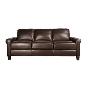 Morris Home Dorothy -- Dorothy Leather-Match* Sofa