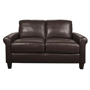 Morris Home Furnishings Dorothy -- Dorothy Leather-Match* Loveseat