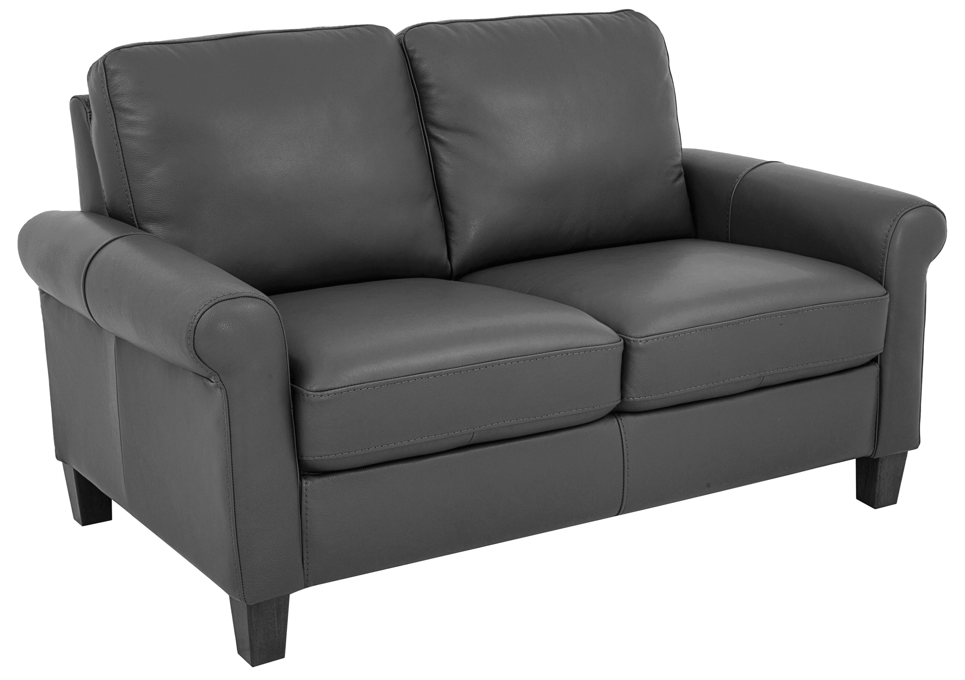 Morris Home Furnishings Dorothy Dorothy Leather-Match* Loveseat - Item Number: 449638094