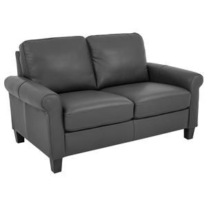 Morris Home Furnishings Dorothy Dorothy Leather-Match* Loveseat