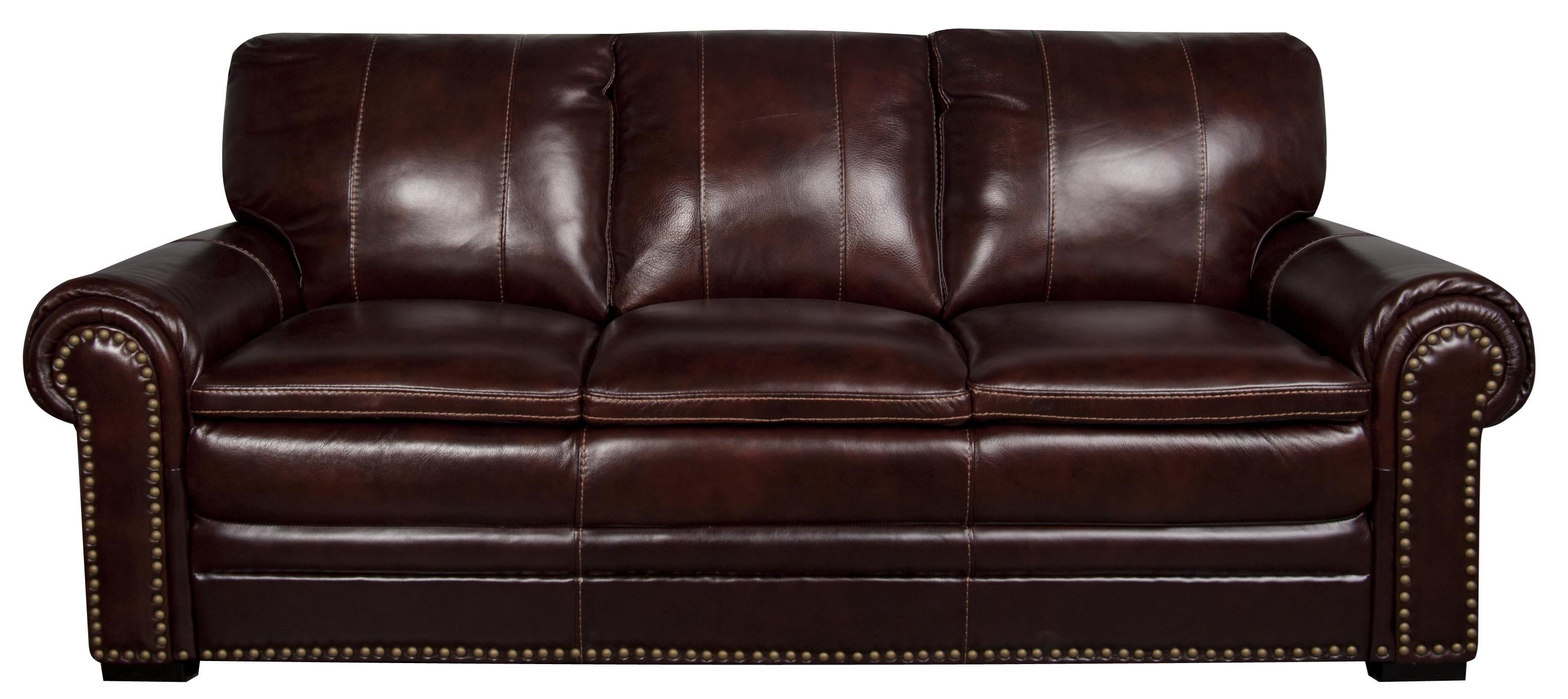 Morris Home Elwood Elwood Leather-Match* Sofa - Item Number: 558703707