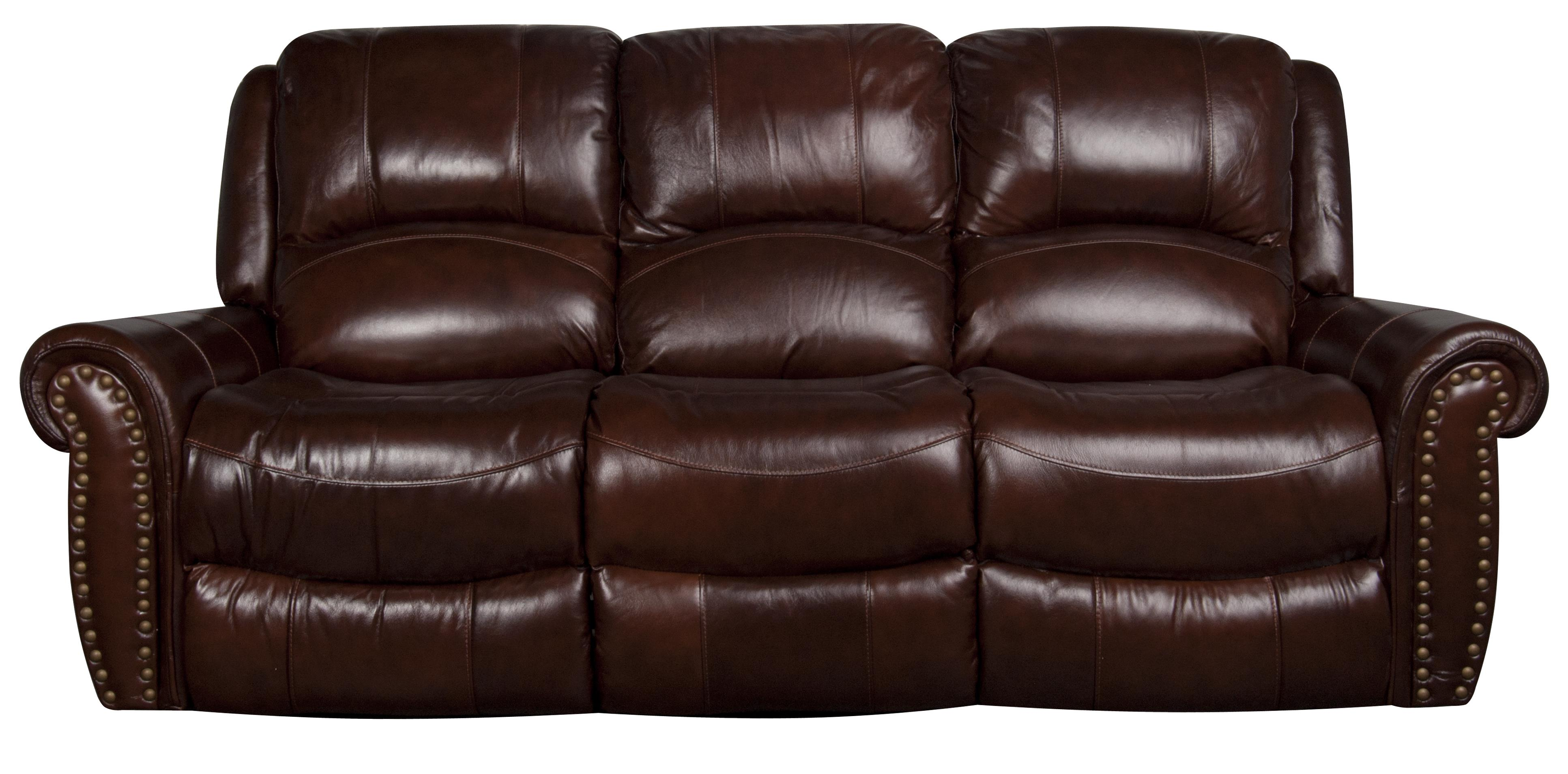 Morris Home Furnishings Fleming Fleming Power Leather-Match* Sofa - Item Number: 755353025