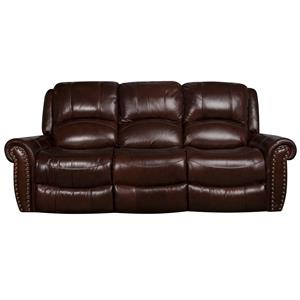 Morris Home Furnishings Fleming Fleming Power Leather-Match* Sofa