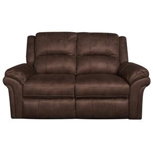 Morris Home Gary Gary Reclining Loveseat