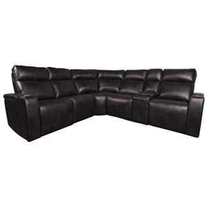 Morris Home Glendon Glendon Power 6 Piece Sectional Pictures