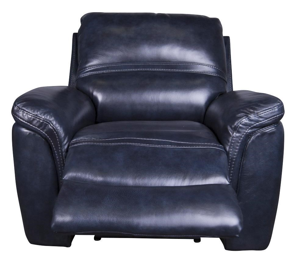Hartley Leather-Match* Power Recliner With Power Headrest