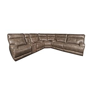 Morris Home Lera Lera Casual Power Sectional Sofa