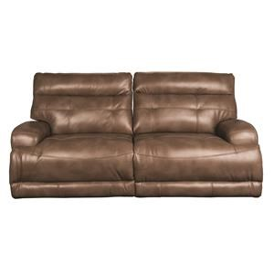 Morris Home Furnishings Lera Lera Power Reclining Sofa w/Power Head rest