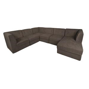 Morris Home Furnishings Lux Lux 6-Piece Sectional
