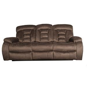 Morris Home Furnishings Merrick Merrick Reclining Sofa