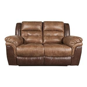 Morris Home Furnishings Montrell Montrell Reclining Loveseat