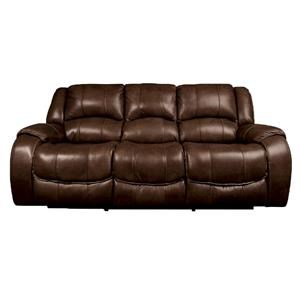 Morris Home Nola Nola Dual Power Reclining Sofa with Power He