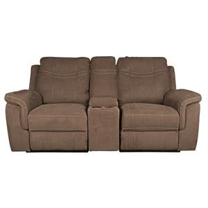 Morris Home Pratt Pratt PWR Loveseat w/PWR Headrest