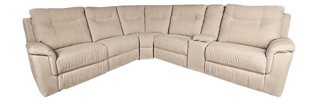 Morris Home Pratt Pratt 6-Piece Power Sectional - Item Number: 134132093