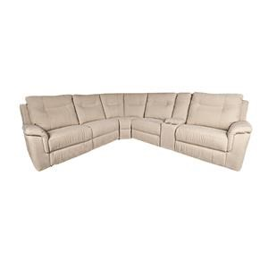 Morris Home Pratt Pratt 6-Piece Power Sectional