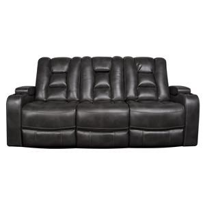 Morris Home Rhinehart Rhinehart Power Sofa with/Power Headrest