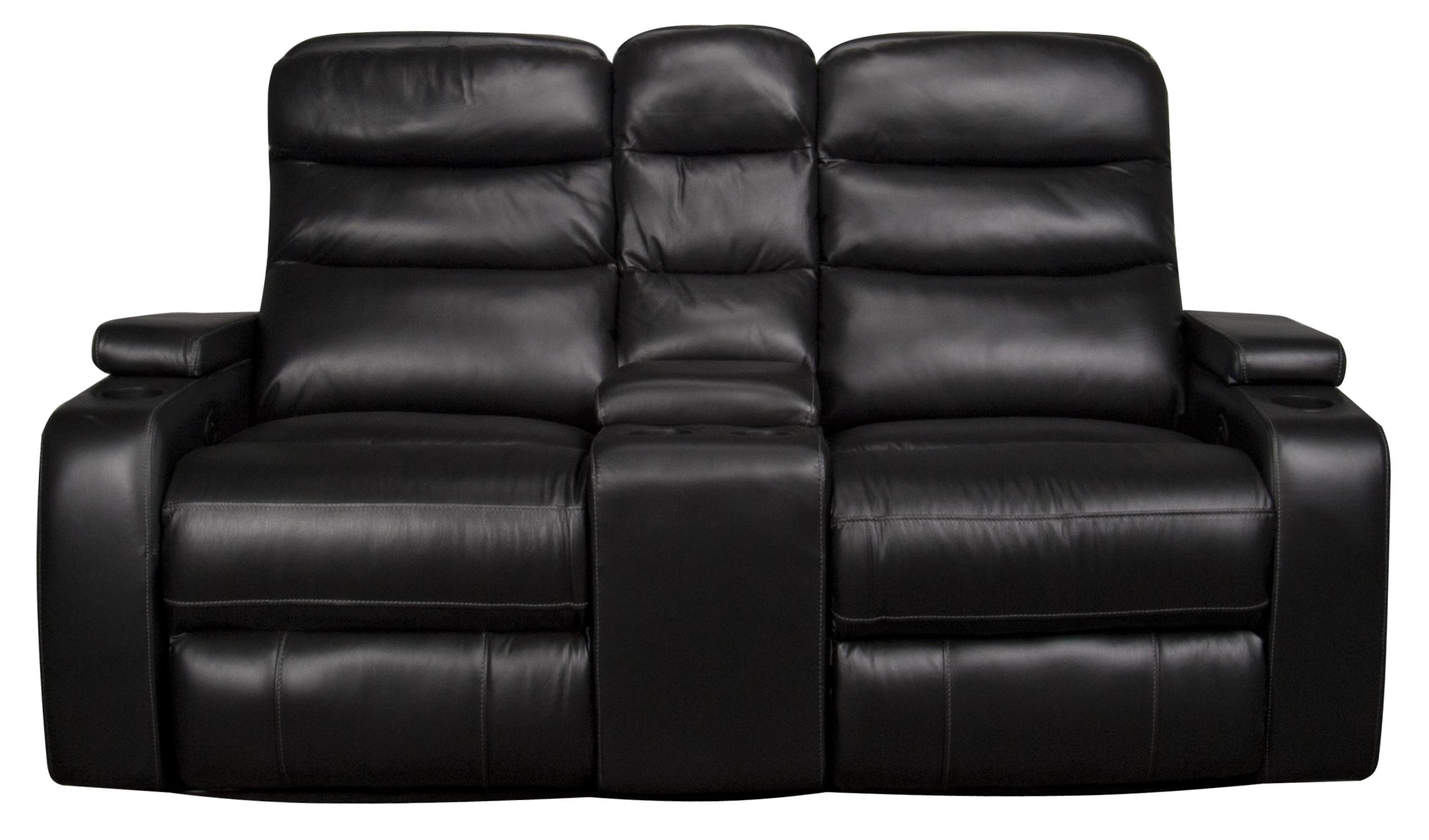 Morris Home Robert  Robert Dual Power Leather-Match* Loveseat - Item Number: 134119183
