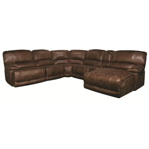 Morris Home Sandra Sandra 6-Piece Power Sectional