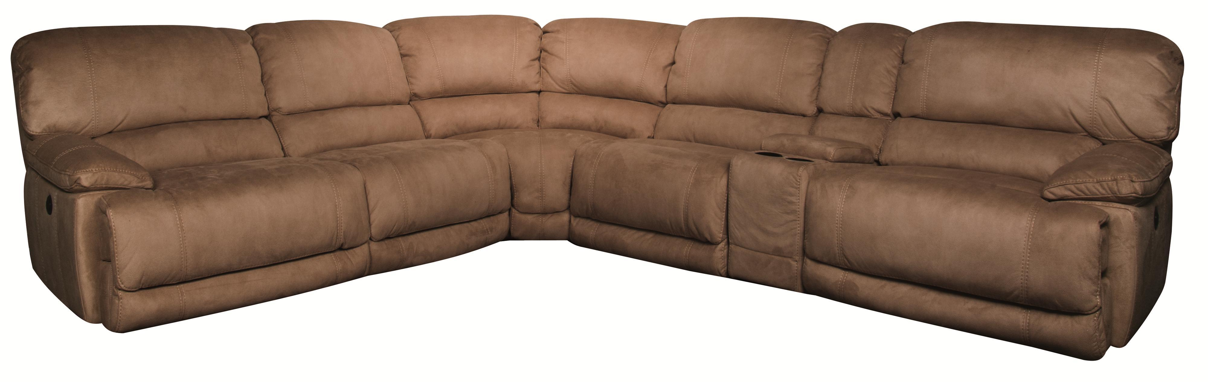 Morris Home Furnishings Sandra Sandra 6-Piece Power Sectional - Item Number: 134869899