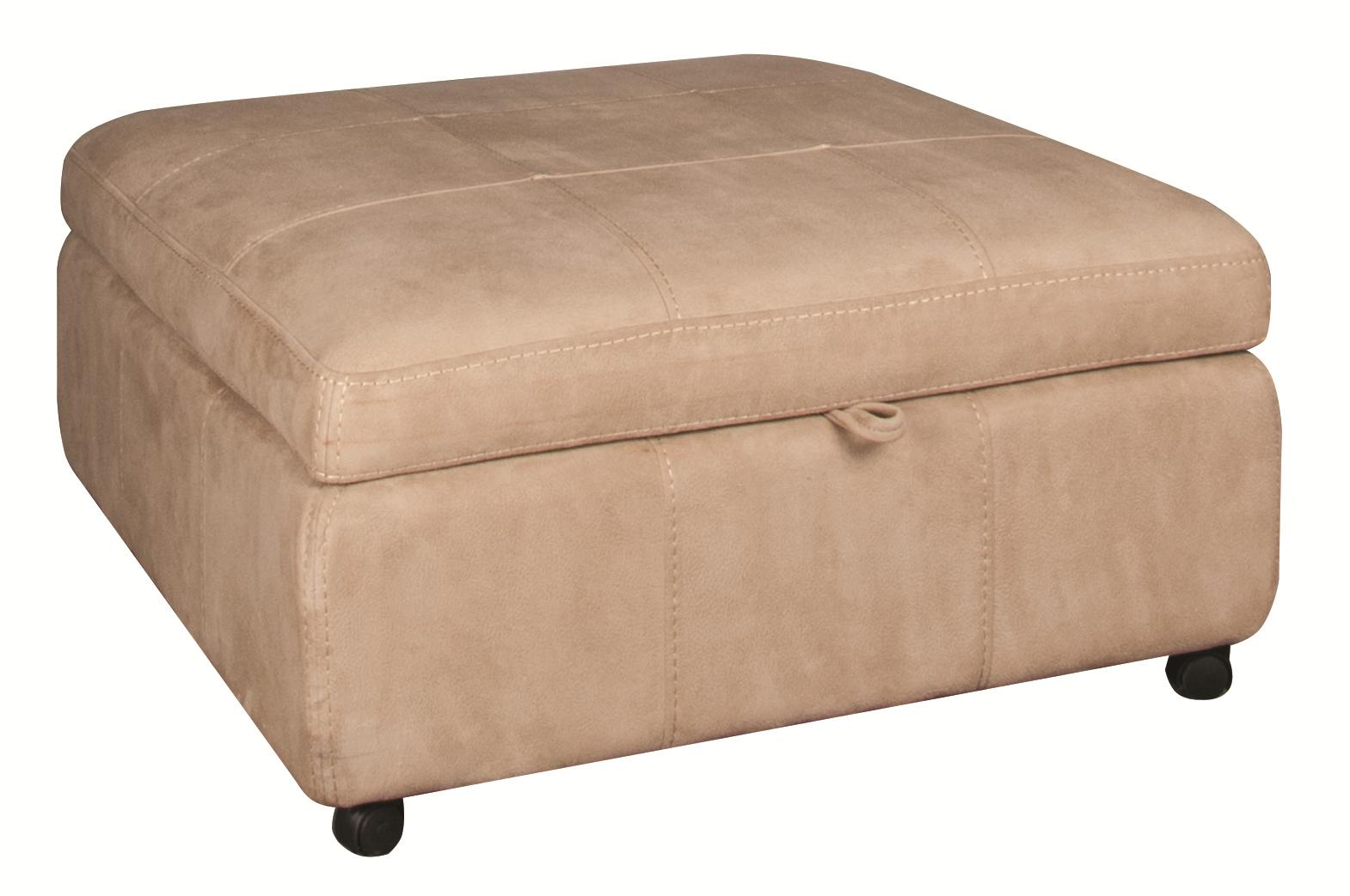 Morris Home Furnishings Sandra Sandra Storage Ottoman - Item Number: 233812901