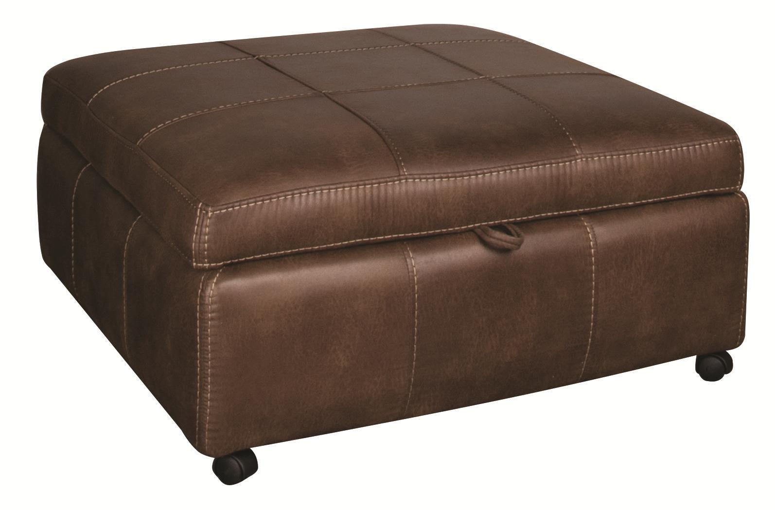 Morris Home Furnishings Sandra Sandra Storage Ottoman - Item Number: 233812949