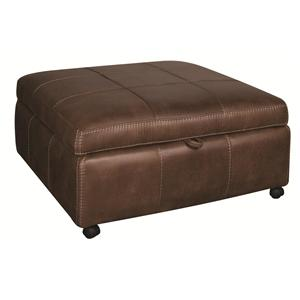 Morris Home Furnishings Sandra Sandra Storage Ottoman