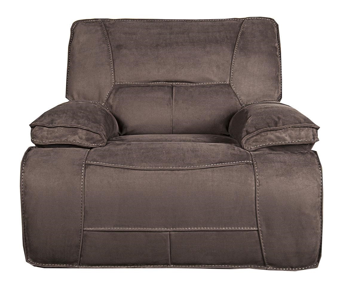 Morris Home Furnishings Theodore Theodore Pella suede Power Recliner - Item Number: 878967495