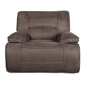 Morris Home Furnishings Theodore Theodore Pella suede Power Recliner