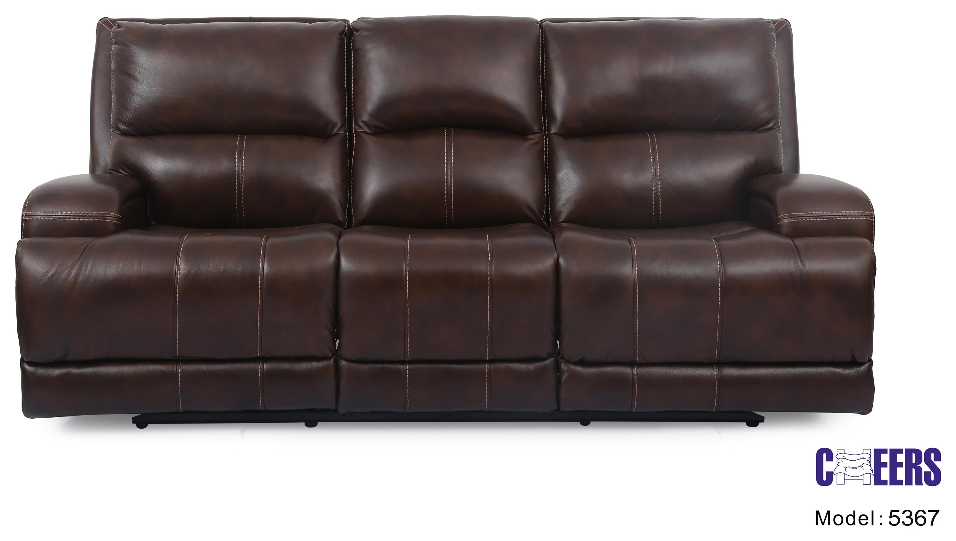 Leather Sofa With Recline