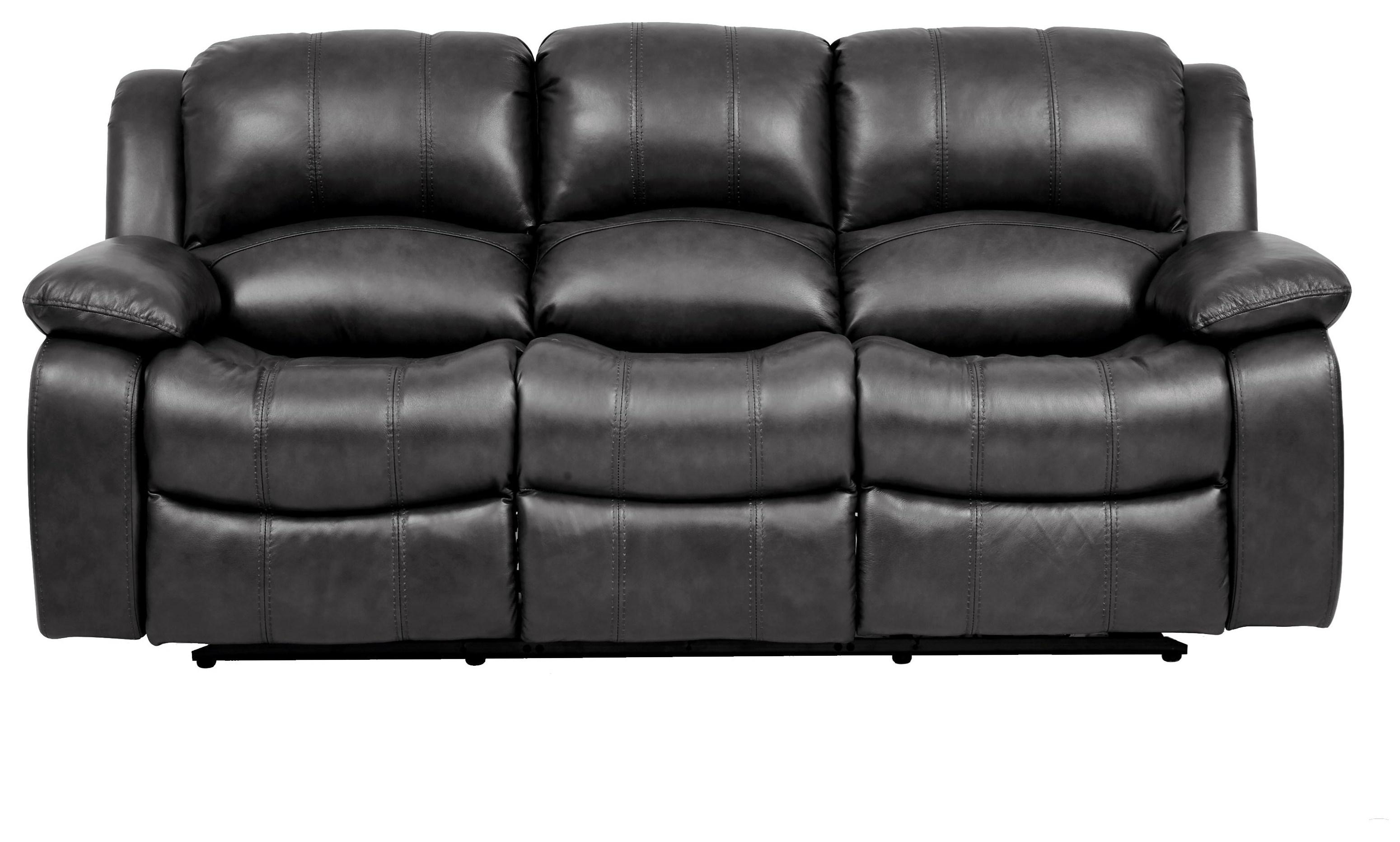 Cheers Greystone Leather Reclining Sofa