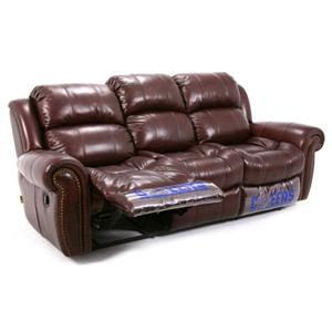 Cheers Sofa U8628 Reclining Sofa With Rolled Arms And Nailhead Trim Bigfurniturewebsite