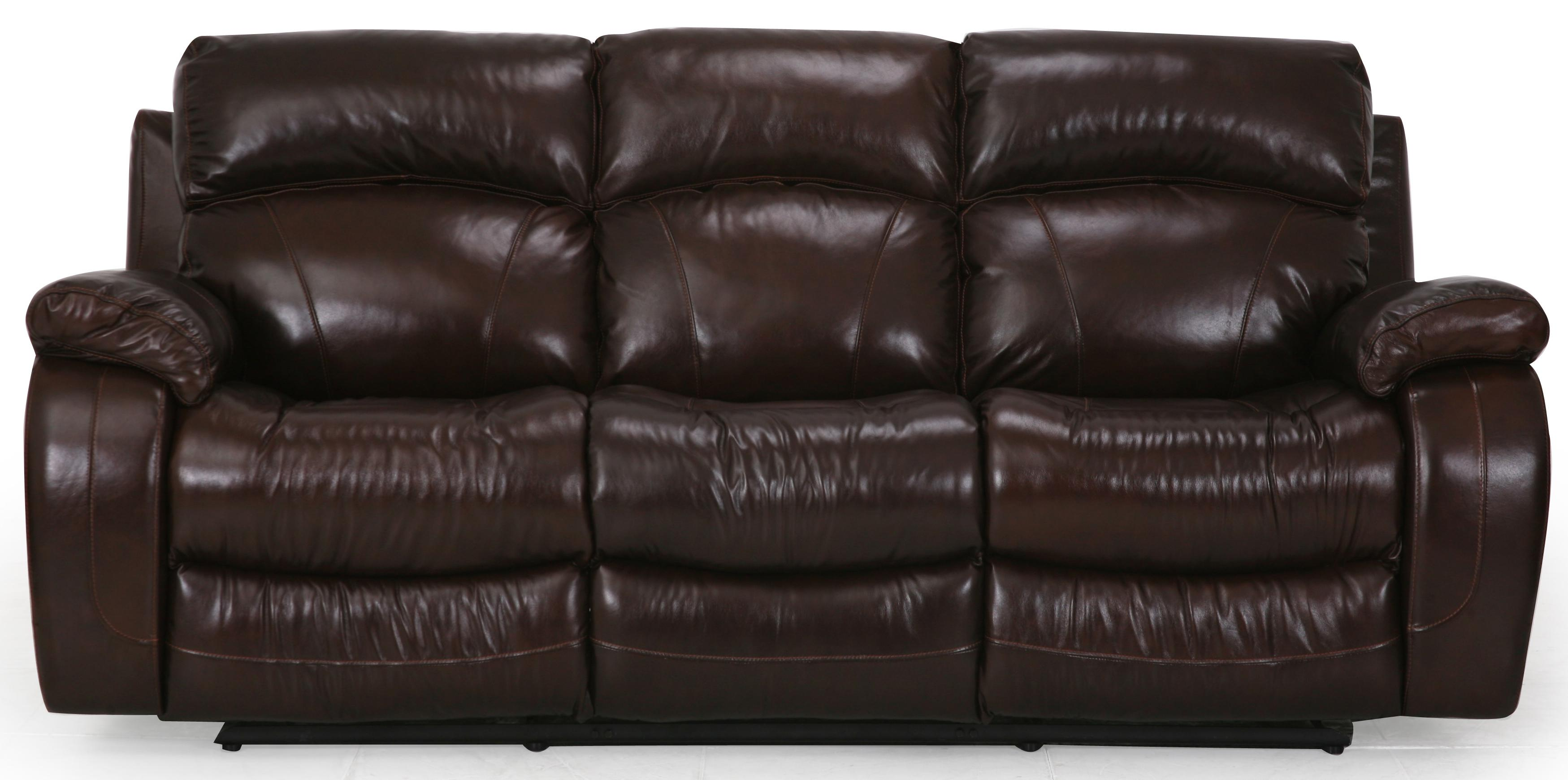 Cheers Sofa Luke Leather Reclining Sofa Great American Home