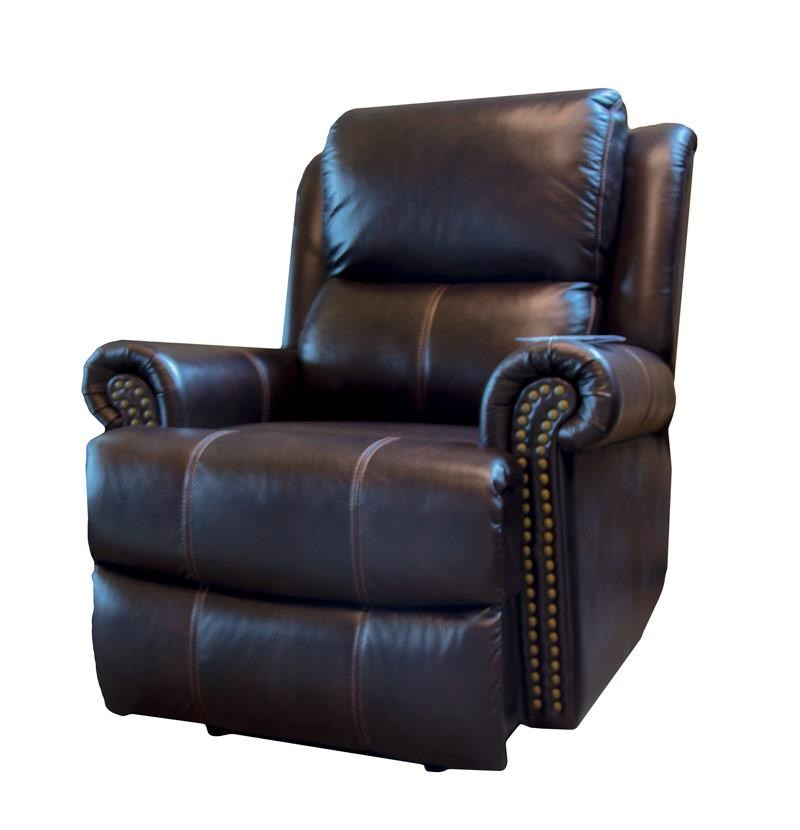 Cheers Sofa Brooks Uk115 L1 1e 2546 Brooks Brown Leather Power Recliner With Power Headrest