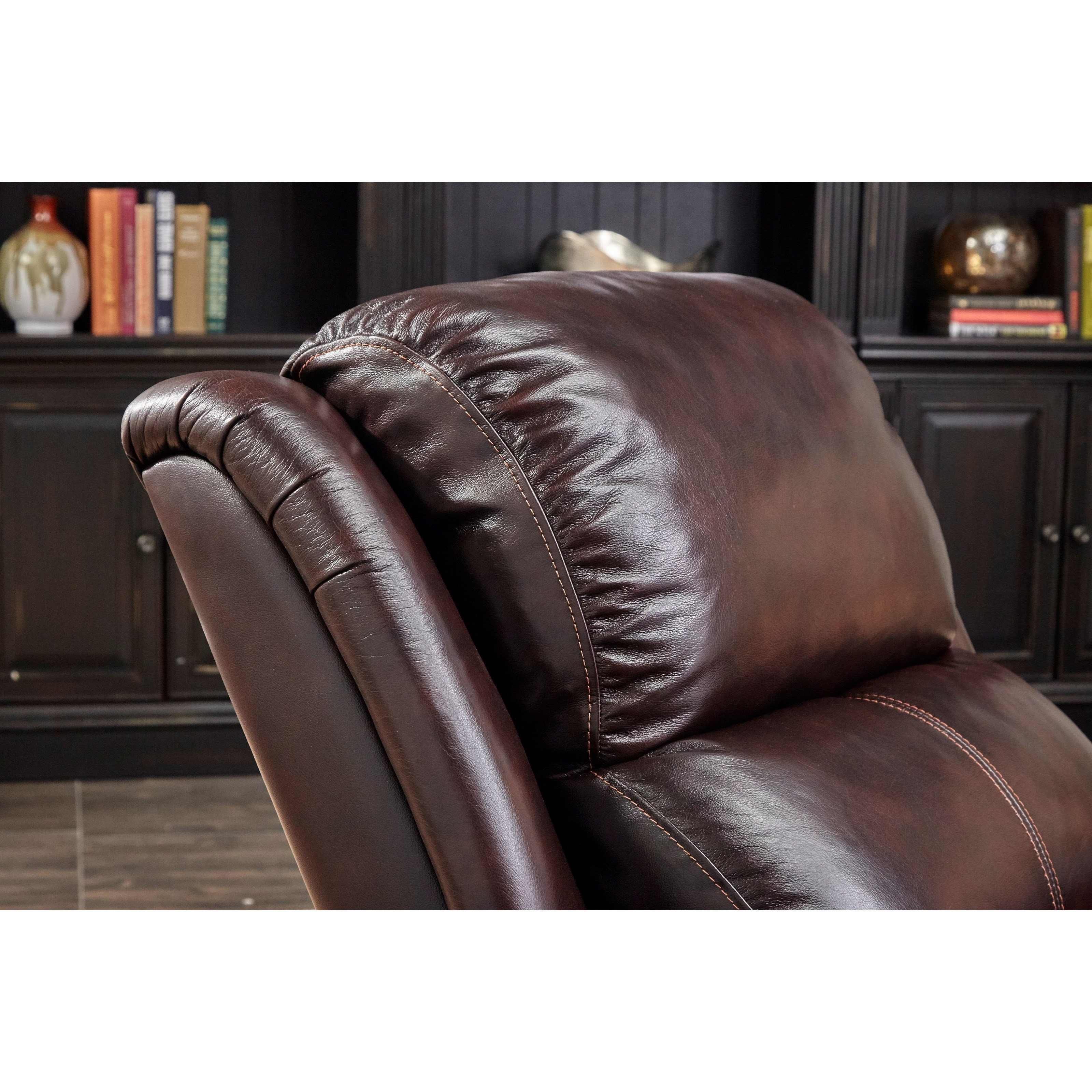 Cheers Sofa Brooks Uk115 L1 1e Phr Brooks Pecan Power Recliner With Power Headrest Great