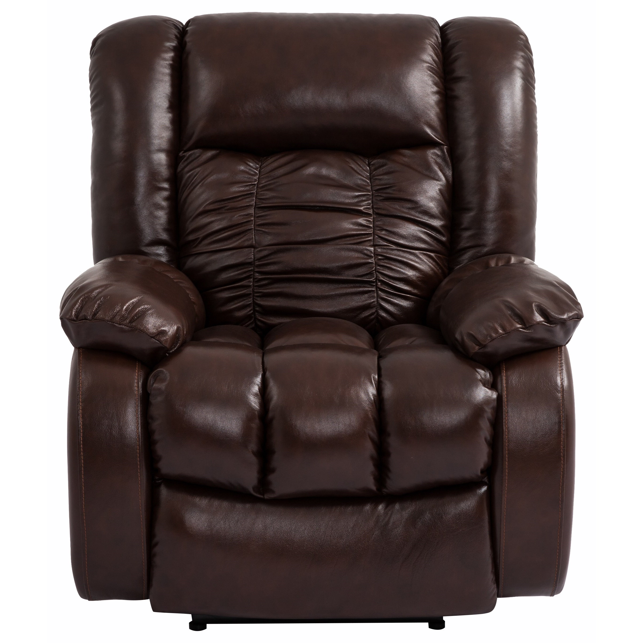 Cheers Sofa UK358 Glider Recliner with Pillow Arms - Royal Furniture - Three Way Recliners