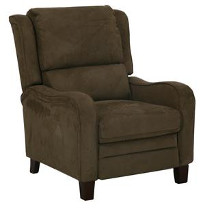 Cheers Sofa Kxw586 Contemporary Styled Push Back Recliner In High Leg Style