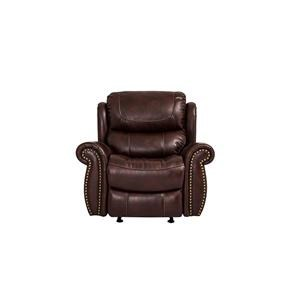 Cheers Sofa Tobacco Recliner Glider