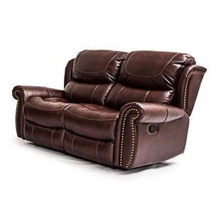 Cheers Sofa UWX1012 Tobacco Reclining Loveseat
