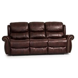 Cheers Sofa Tobacco Power Reclining Sofa