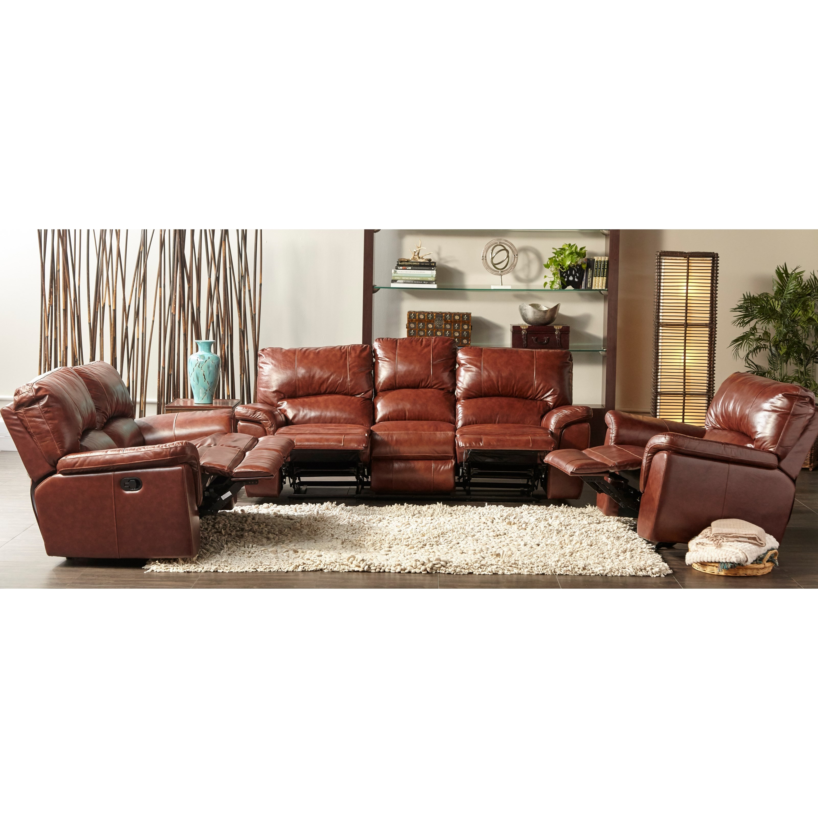 Cheers Ux1023 Qs Dual Power Reclining Sofa With Pillow
