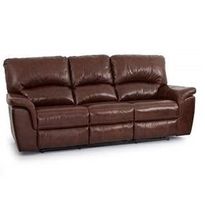 Cheers Sofa Brandy Leather Dual Reclining Sofa