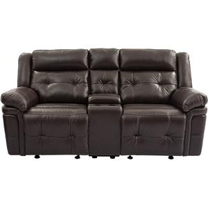 Vendor 44 UXW9857 Reclining Loveseat with Console