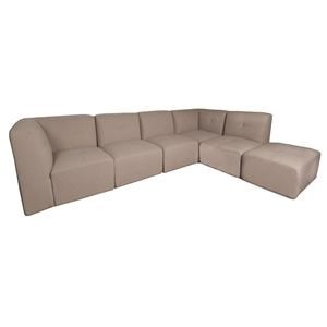 Morris Home Vess Vess 6-Piece Sectional