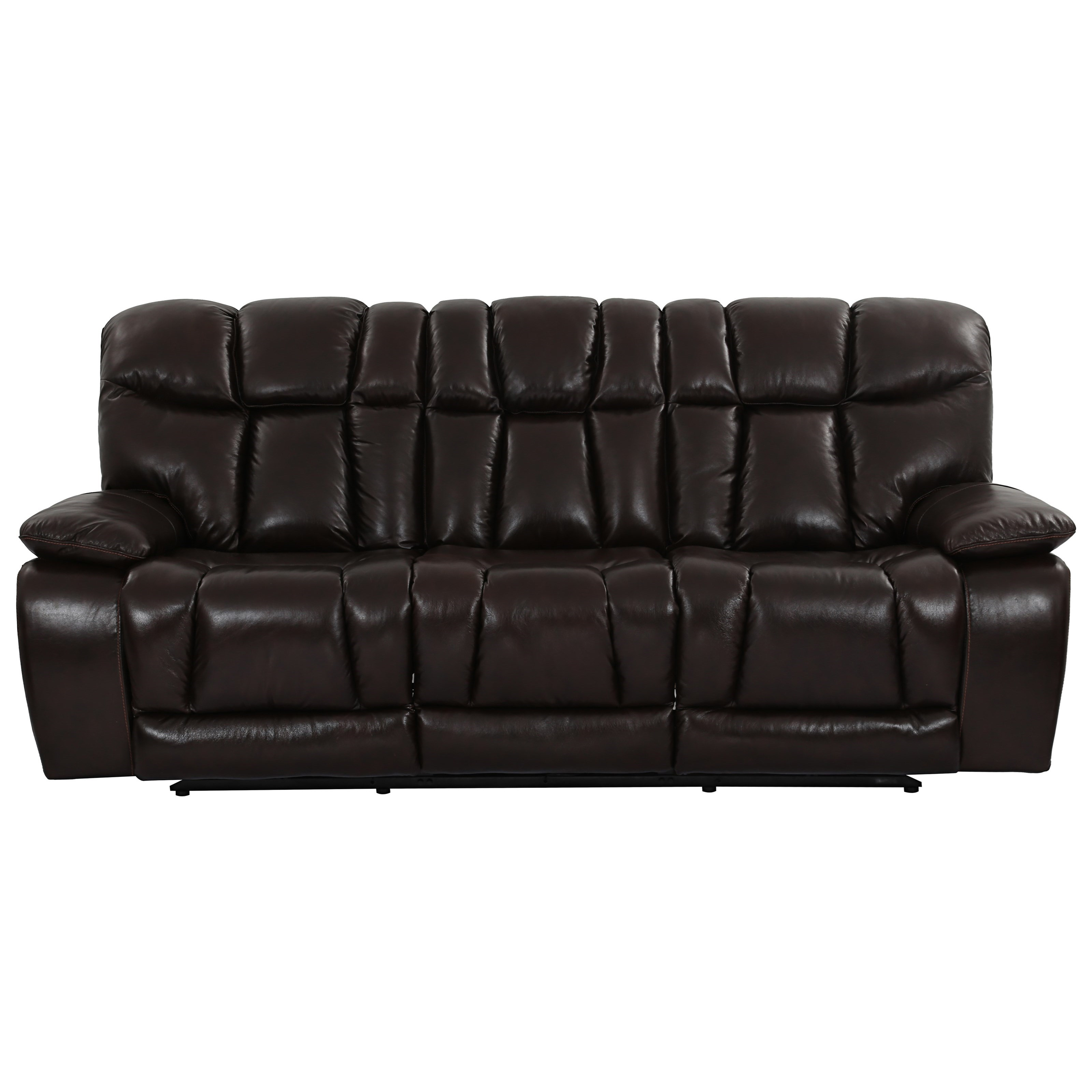 Cheers Sofa X1089M Dual Power Reclining Sofa with Power Headrests