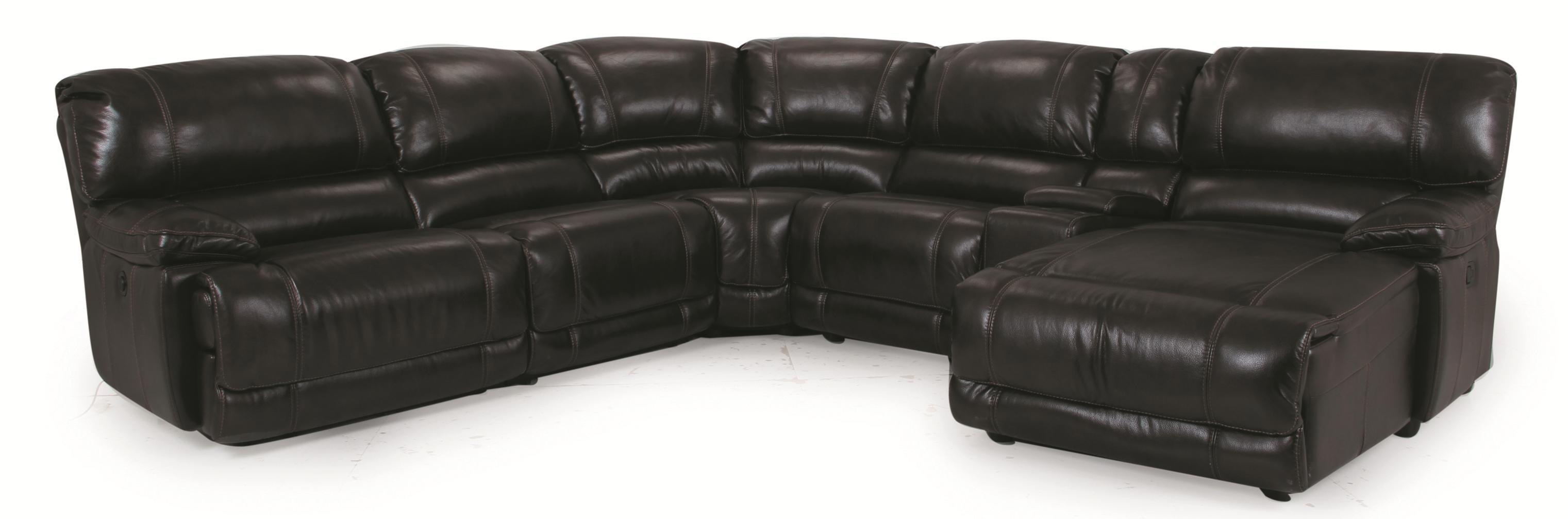 Cheers Sofa X8698M Spence 6 Piece Right Facing Chaise Sectional - Item Number: CHEE-GRP-SPENCE-6PC-SECTIONAL