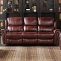 Alex Express XW1012M QS Dual Reclining Sofa - Item Number: XW1012M-L3-2M-30768